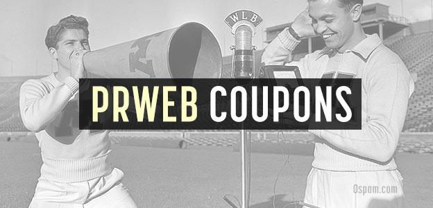 prweb coupons